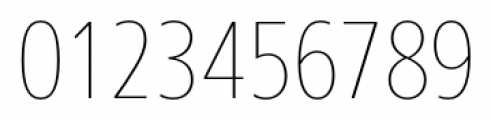 Core Sans N SC 17 Cn Thin Font OTHER CHARS