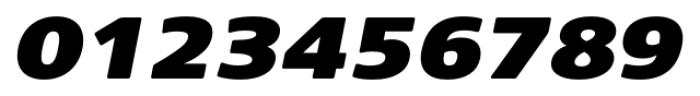 Core Sans NR SC 93 Ex Black Italic Font OTHER CHARS