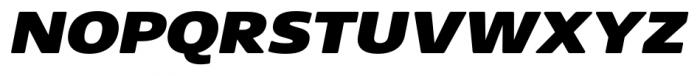 Core Sans NR SC 93 Ex Black Italic Font UPPERCASE