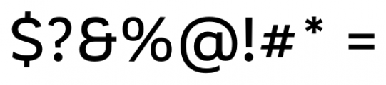 Corporative Alt Medium Font OTHER CHARS