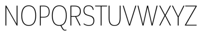 Corporative Sans Condensed Alt Thin Font UPPERCASE