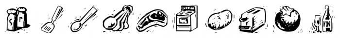Counterscraps Regular Font OTHER CHARS