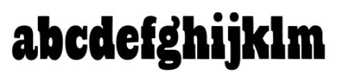 Cowboyslang Condensed Font LOWERCASE