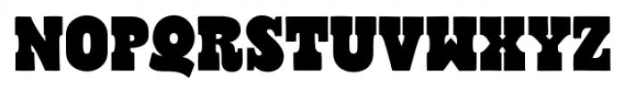 Cowboyslang Regular Font UPPERCASE