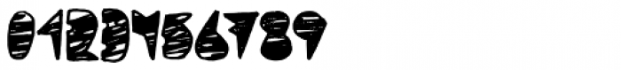 Coal Soul Scratched Font OTHER CHARS