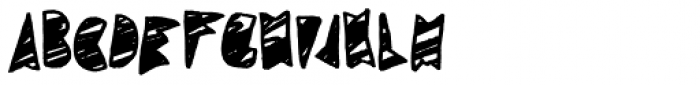 Coal Soul Scratched Font LOWERCASE