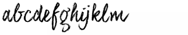 CoalhandLuke Pro Font LOWERCASE