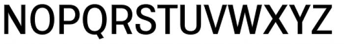 Coast Wide Medium Font UPPERCASE