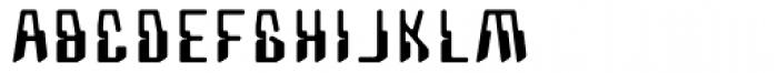 Coaxial Regular Font UPPERCASE