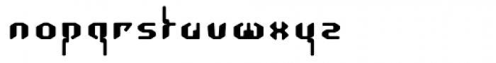 Coaxial Regular Font LOWERCASE