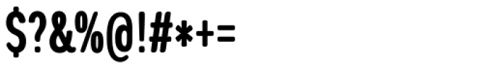 Coben Condensed Bold Font OTHER CHARS