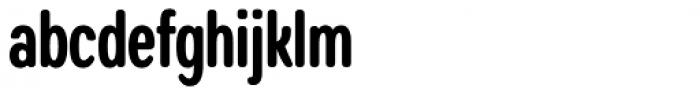 Coben Condensed Bold Font LOWERCASE