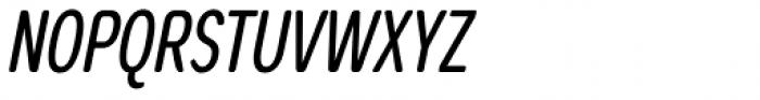 Coben Condensed Italic Font UPPERCASE