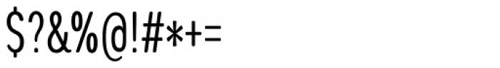 Coben Condensed Light Font OTHER CHARS
