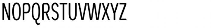 Coben Condensed Light Font UPPERCASE
