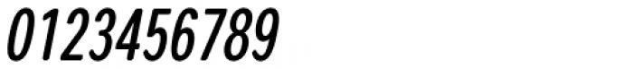 Coben Condensed Medium Italic Font OTHER CHARS