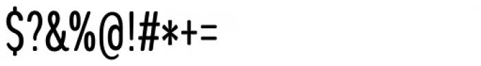 Coben Condensed Font OTHER CHARS