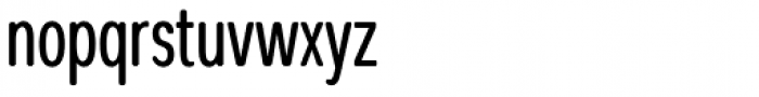 Coben Condensed Font LOWERCASE