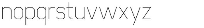 Cobol Light Font LOWERCASE