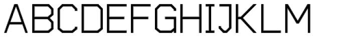 Cobol Medium Font UPPERCASE