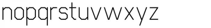Cobol Font LOWERCASE
