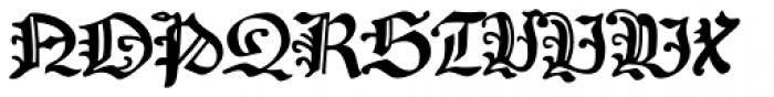 Coburg No2 Font UPPERCASE