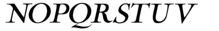 Cochin Archaic Italic Font UPPERCASE