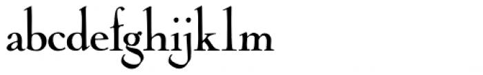 Cochin Archaic Regular Font LOWERCASE