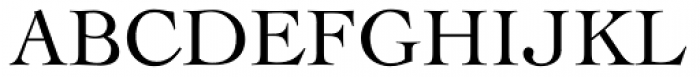 Cochin Pro Roman Font UPPERCASE