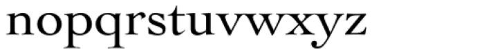 Cochin Pro Roman Font LOWERCASE