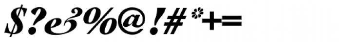 Cochin URW D Black Italic Font OTHER CHARS