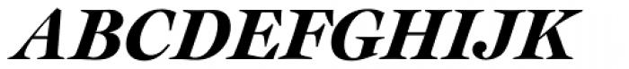 Cochin URW D Black Italic Font UPPERCASE