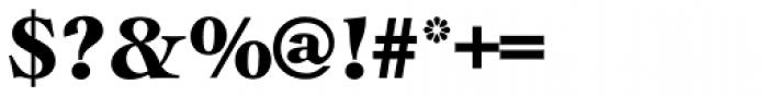 Cochin URW D Black Font OTHER CHARS