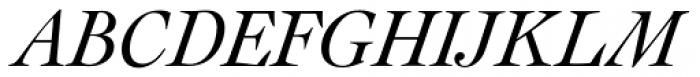 Cochin URW D Italic Font UPPERCASE