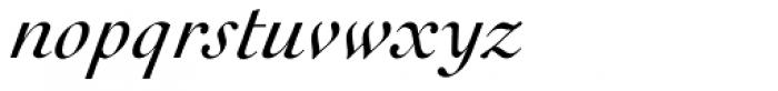 Cochin URW D Italic Font LOWERCASE