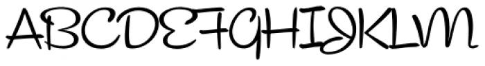 Cocktail Script Font UPPERCASE