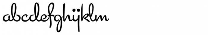 Cocktail Script Font LOWERCASE