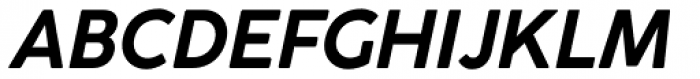 Cocogoose Classic Bold Italic Font UPPERCASE