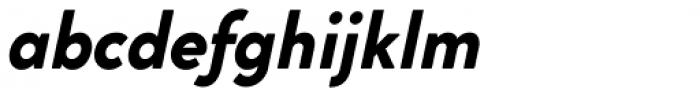 Cocogoose Classic Bold Italic Font LOWERCASE