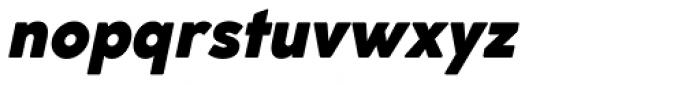 Cocogoose Classic Extra Bold Italic Font LOWERCASE