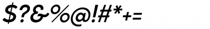 Cocogoose Classic Medium Italic Font OTHER CHARS