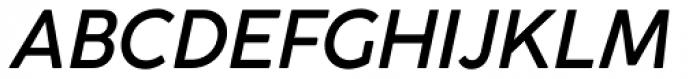 Cocogoose Classic Medium Italic Font UPPERCASE