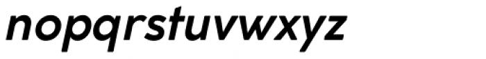 Cocogoose Classic Medium Italic Font LOWERCASE