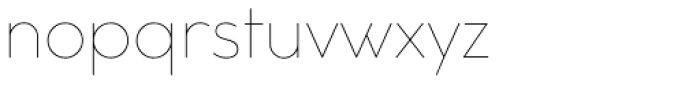 Cocogoose Classic Thin Font LOWERCASE