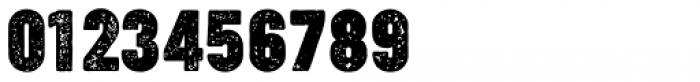 Cocogoose Compressed Letterpress Font OTHER CHARS