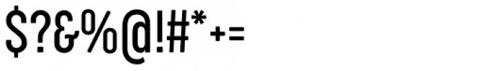Cocogoose Compressed Light Font OTHER CHARS