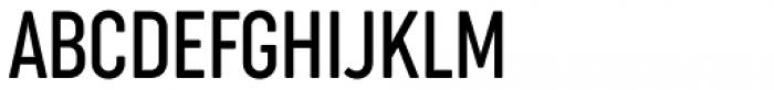 Cocogoose Compressed Light Font UPPERCASE