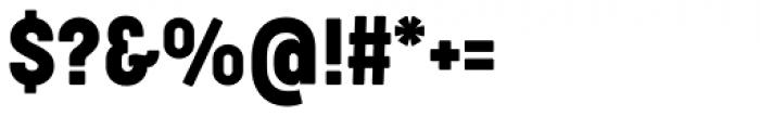 Cocogoose Condensed Regular Font OTHER CHARS