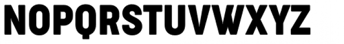 Cocogoose Condensed Regular Font UPPERCASE