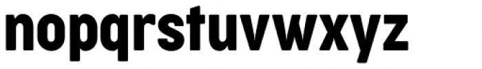 Cocogoose Condensed Regular Font LOWERCASE